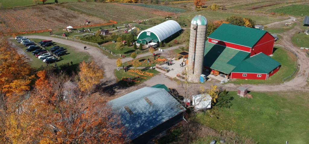 Forsythe Family Farms Arial View